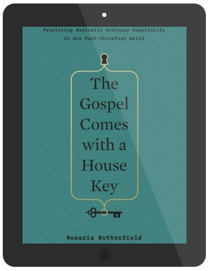 Book Summary of The Gospel Comes With a House Key by Rosaria Butterfield