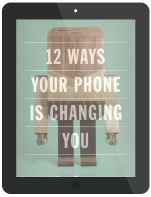 Book Summary of 12 Ways your Phone is Changing You by Tony Reinke