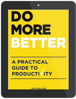 Book Summary of Do More Better by Tim Challies