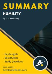 Book Summary of Humility by CJ Mahaney