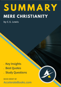 Book Summary of Mere Christianity by C.S. Lewis