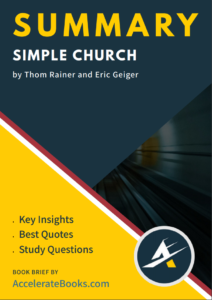 Book Summary of Simple Church by Thom Rainer and Eric Geiger