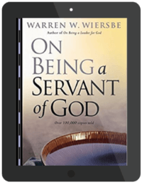 Book Summary of On Being a Servant of God by Warren W. Wiersbe