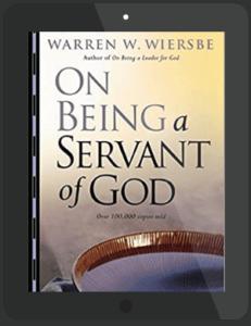 Book Summary of On Being a Servant of God by Warren W. Wiersbe