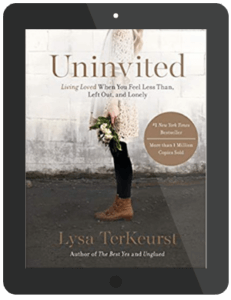 Book Summary of Uninvited by Lysa TerKeurst