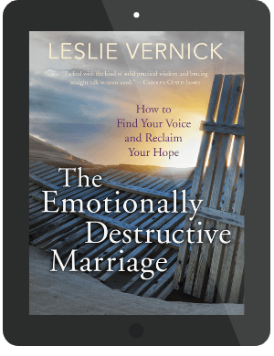 Book Summary of The Emotionally Destructive Marriage by Leslie Vernick