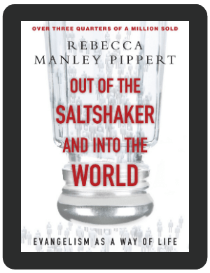 Book Summary of Out of the Saltshaker and into the World by Rebecca Manley Pippert