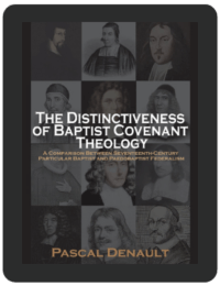 Book Summary of The Distinctiveness of Baptist Covenant Theology by Pascal Denault