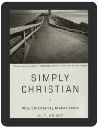 Book Summary of Simply Christian by NT Wright