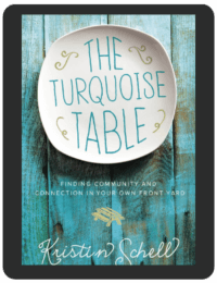Book Summary of The Turquoise Table by Kristin Schell